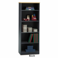 Bush Series A Bookcase 5-Shelf - Beech