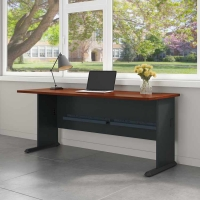 Bush Series A 72 inch Desk - Hansen Cherry