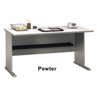 Bush Series A 60 inch Desk (Pewter)