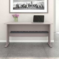 Bush Series A 60W Desk in Pewter