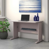 Bush Series A 48W Desk in Pewter