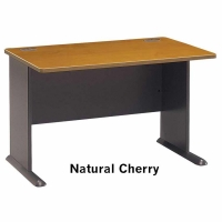 Bush Series A 48 inch Desk (Natural Cherry)