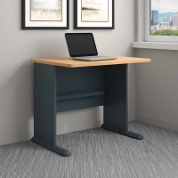 Bush Series A 36W Desk in Beech