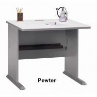 Bush Series A 36 inch Desk (Pewter)