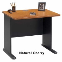 Bush Series A 36 inch Desk (Natural Cherry)