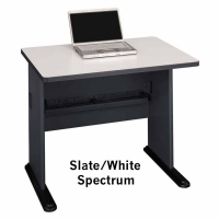Bush Series A 36 inch Desk (Slate)