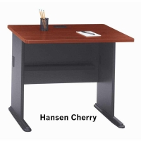 Bush Series A 36 inch Desk (Hansen Cherry)