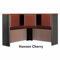 Bush Series A 48 inch Corner Hutch (Hansen Cherry)