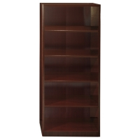 Bush Quantum 5-Shelf Bookcase - Harvest Cherry