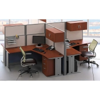 Office in an Hour 4-person Workstation