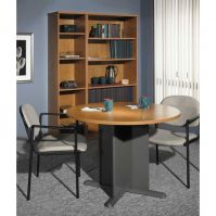 Bush Series C Conference Table Group in Natural Cherry
