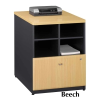 Bush Series A 24 inch Storage Cabinet (Beech)
