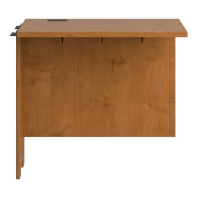 Bush Envoy Collection Desk Return  Natural Cherry