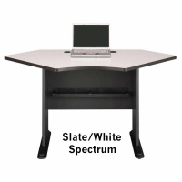 Bush Series A 42 inch Corner Desk (Slate)