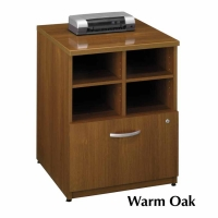 Bush Series C 24 inch Storage Cabinet  Warm Oak