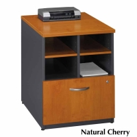 Bush Series C 24 inch Storage Cabinet  Natural Cherry