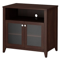 KI Grand Expressions Tall TV Stand in Warm Molasses