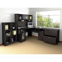 Bush Cabot L Desk Suite