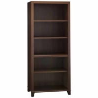 Bush Achieve Collection 5-Shelf Bookcase Sweet Cherry