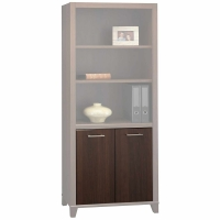 Bush Achieve Collection Door Kit for Bookcase  Sweet Cherry