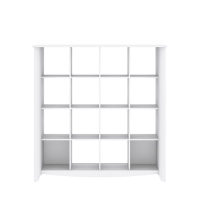 Bush Furniture Aero 16-Cube Bookcase/Room Divider