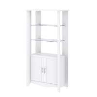 Bush Furniture Aero 2-Door Tall Library Storage