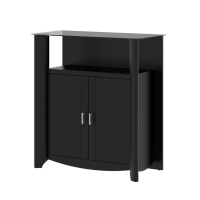 Bush Furniture Aero 2-Door Medium Library Storage
