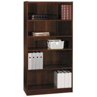 Bush 72 inch Universal Bookcase in Vogue Cherry