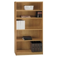 Bush 72 inch Universal Bookcase in Snow Maple