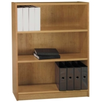 Bush 48 inch Universal Bookcase in Snow Maple