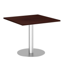 Bush 36 inch Square Conference Table Kit - Harvest Cherry