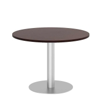 Bush 42 inch Round Conference Table Kit - Harvest Cherry