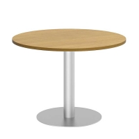 Bush 42 inch Round Conference Table Kit - Modern Cherry
