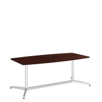 Bush 72 inch Rectangle Conference Table Kit - Harvest Cherry
