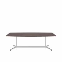 Bush 96 inch Rectangle Conference Table Kit - Harvest Cherry