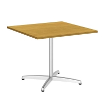 Bush 36 inch Square Conference Table X Base - Modern Cherry