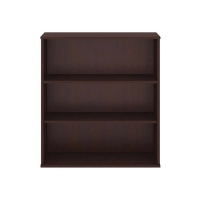 Bush 3 Shelf Bookcase - Harvest Cherry