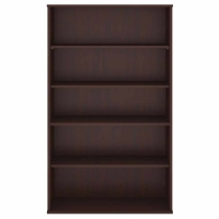 Bush 5 Shelf Bookcase - Harvest Cherry