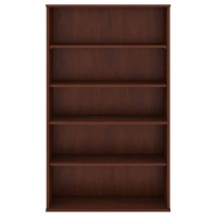Bush 5 Shelf Bookcase - Hansen Cherry