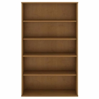 Bush 5 Shelf Bookcase - Natural Cherry