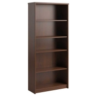 Bush Envoy Collection 5-Shelf Bookcase  Hansen Cherry