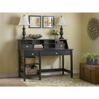 Bush Broadview Open Storage Desk & Organizer - Espresso