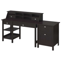 Bush Broadview Open Storage Desk Kit With Lateral File