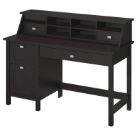 *Avail 11/17 Bush Broadview Single Pedestal Desk and Organizer