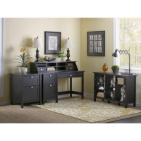 *Avail 11/17 Bush Broadview Single Pedestal Desk Suite