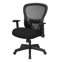 Office Star Deluxe SpaceGrid Chair with Memory Foam Seat - Pick Your Color