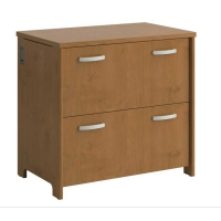 Bush Envoy Collection 2 Drawer Lateral File - Natural Cherry