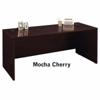 Bush Series C 72 inch Desk - Mocha Cherry