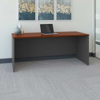 Bush Series C 72W Desk in Hansen Cherry