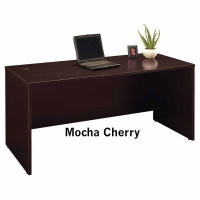 Bush Series C 66 inch Desk - Mocha Cherry
